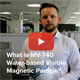 What is MV-740 Water-based Visible Magnetic Particle?
