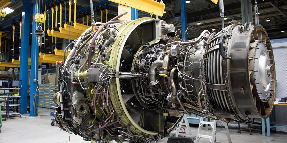Airplane Engine NDT